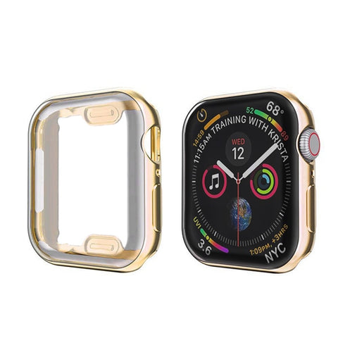 Apple Watch Case Series 5 44mm Waterproof Screen Protector Gold-CoolDesignOnline