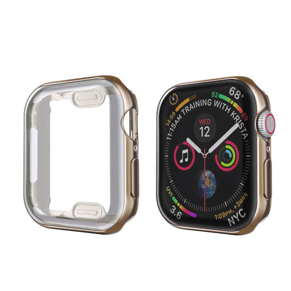 Apple Watch Case Series 4 44mm Protective Screen Protector Brown-CoolDesignOnline