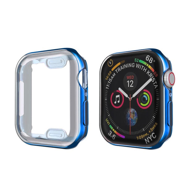 Apple Watch Case Series 5 44mm Waterproof Screen Protector Blue-CoolDesignOnline