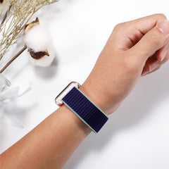 Apple Watch Band 4 Series 44mm Nylon Breathable Sport Loop Indigo-CoolDesignOnline