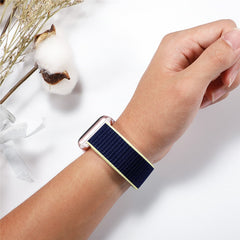 Apple Watch Band 2 Series 42mm Nylon Breathable Sport Loop Indigo-CoolDesignOnline
