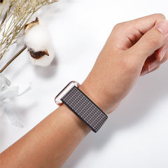 Apple Watch Band 2 Series 38mm Nylon Breathable Sport Loop Storm Gray-CoolDesignOnline