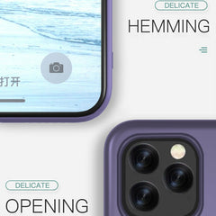 iPhone 11 Pro Max Case Solid Candy Color Liquid Silicone Lavender Cover-CoolDesignOnline