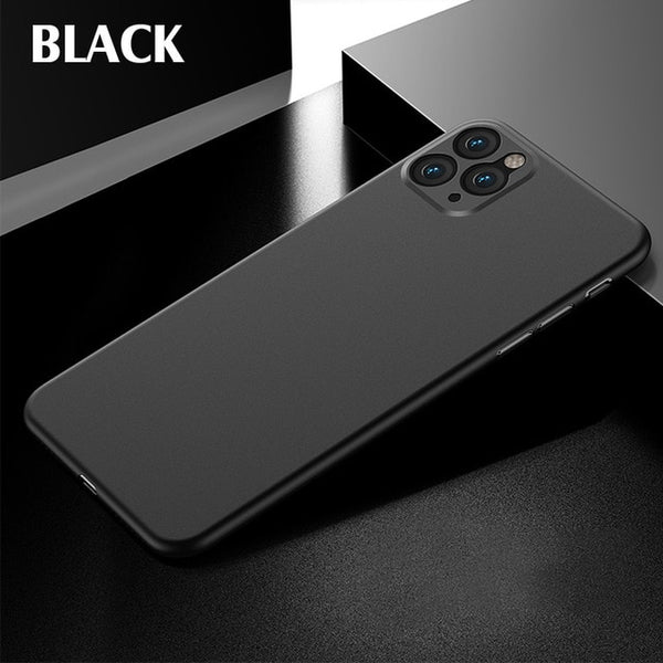 iPhone 11 Case Luxury 0.3mm Ultra Thin iPhone Cover Black-CoolDesignOnline