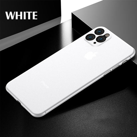 iPhone 11 Case Luxury 0.3mm Ultra Thin iPhone Cover White-CoolDesignOnline
