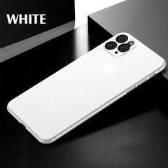 iPhone 11 Pro Max Case Luxury 0.3mm Ultra Thin iPhone Cover White-CoolDesignOnline