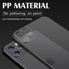 iPhone 11 Pro Case Luxury 0.3mm Ultra Thin iPhone Cover Black-CoolDesignOnline