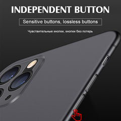 iPhone 11 Pro Case Luxury 0.3mm Ultra Thin iPhone Cover Gray-CoolDesignOnline