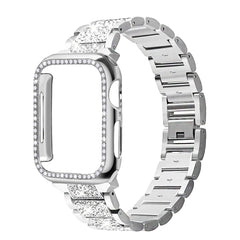 Apple Watch Band Stainless Steel Series 4 40mm Luxury Bracelet Silver-CoolDesignOnline