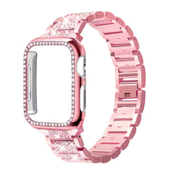 Apple Watch Band Stainless Steel Series 3 38mm Bracelet With Case Pink Gold-CoolDesignOnline