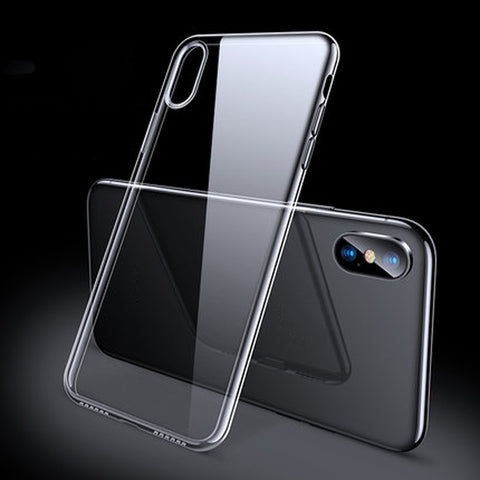 iPhone X Case Ultra Thin Slim Soft TPU Silicone iPhone Cover-CoolDesignOnline
