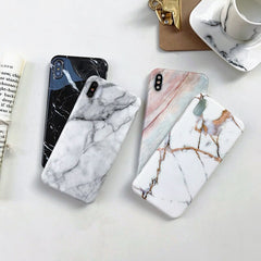 iPhone XS Max Case Marble Texture iPhone Cover 8-CoolDesignOnline