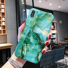 Marble iPhone XS Case iPhone Cover 1-CoolDesignOnline