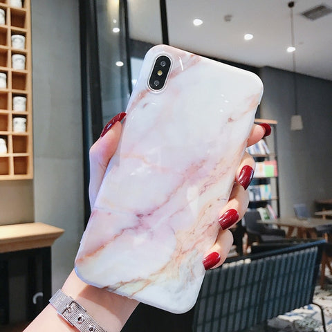 Marble iPhone X Case iPhone Cover 5-CoolDesignOnline
