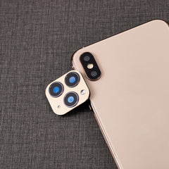 iPhone X Camera Lens Cover Change To Fake iPhone 11 Pro Silver-CoolDesignOnline