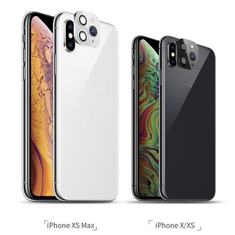 iPhone XS Max Camera Lens Cover Change To Fake iPhone 11 Pro Max Black-CoolDesignOnline