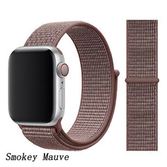 Apple Watch Band 1 Series 42mm Nylon Sport Loop Smokey Mauve-CoolDesignOnline