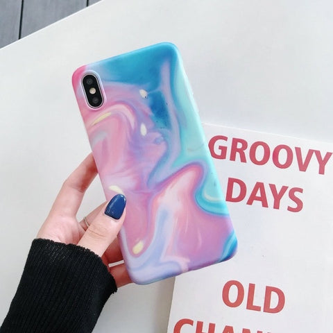 Marble iPhone X Case iPhone Cover 24-CoolDesignOnline