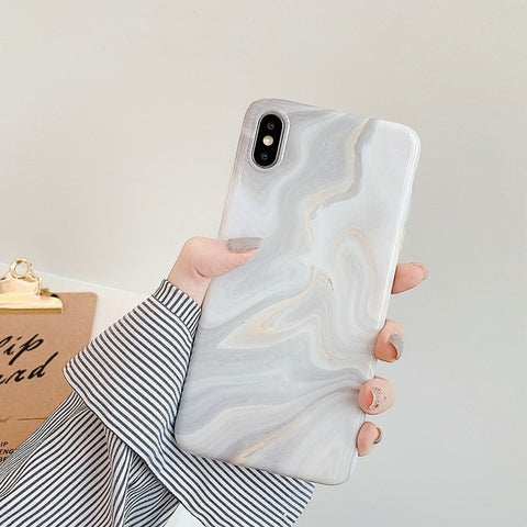 Marble iPhone XS Case iPhone Cover 27-CoolDesignOnline