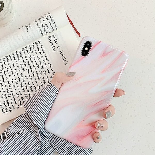 Marble iPhone X Case iPhone Cover 22-CoolDesignOnline
