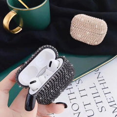 AirPods Pro Case Luxury Sliver Glitter Bling Diamond AirPods Case-CoolDesignOnline