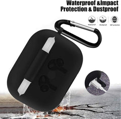 AirPods Pro Case With Keychain Protective AirPods Case Black 2-CoolDesignOnline