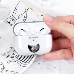 AirPods Pro Cases Cute Cartoon Pattern Transparent AirPods Cover 07-CoolDesignOnline