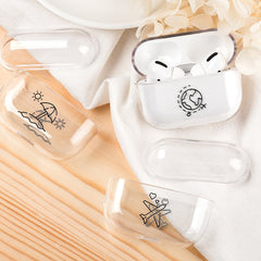 AirPods Pro Cases Clear Pattern Transparent AirPods Cover-CoolDesignOnline