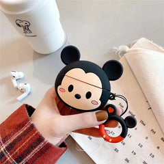 AirPods Pro Case Cute Mickey Cartoon AirPods Cover With Keychain 2-CoolDesignOnline