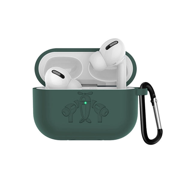 AirPods Pro Case With Keychain Protective AirPods Case Dark Green-CoolDesignOnline