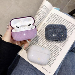AirPods Pro Case Glitter Bling Crystal Sequins AirPods Cover White-CoolDesignOnline
