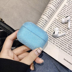 AirPods Pro Case Glitter Bling Crystal Sequins AirPods Cover Blue-CoolDesignOnline
