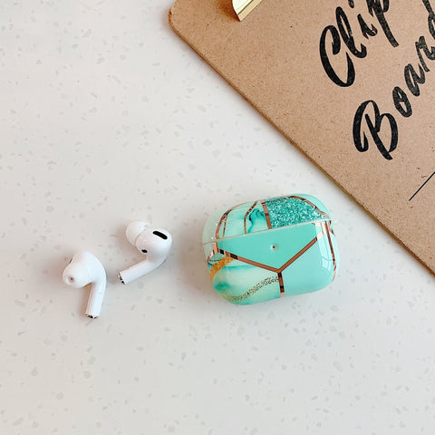 Airpods Pro Case Marble Pattern Cute Airpods Cover YH-CoolDesignOnline