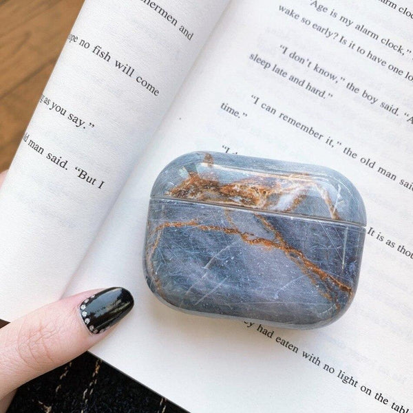 Airpods Pro Case Marble Pattern Cute Airpods Cover 1207G3-CoolDesignOnline