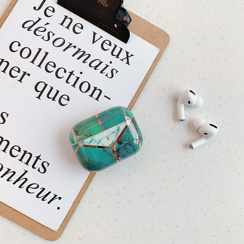 Airpods Pro Case Marble Pattern Cute Airpods Cover ZH-CoolDesignOnline