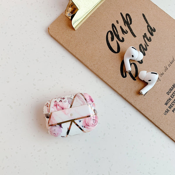 Airpods Pro Case Marble Pattern Cute Airpods Cover C2-CoolDesignOnline