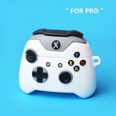 AirPods Pro Case White XBox Controller Cute Game Fanda AirPods Cover-CoolDesignOnline