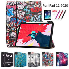 iPad Pro Case 2020 11 inch 4th Gen Pencil Holder Folio Case Cover A5-CoolDesignOnline