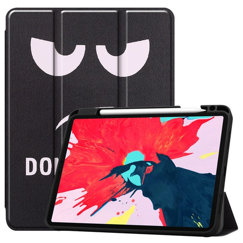 iPad Pro Case 2020 11 inch 4th Gen Pencil Holder Folio Case Cover A1-CoolDesignOnline