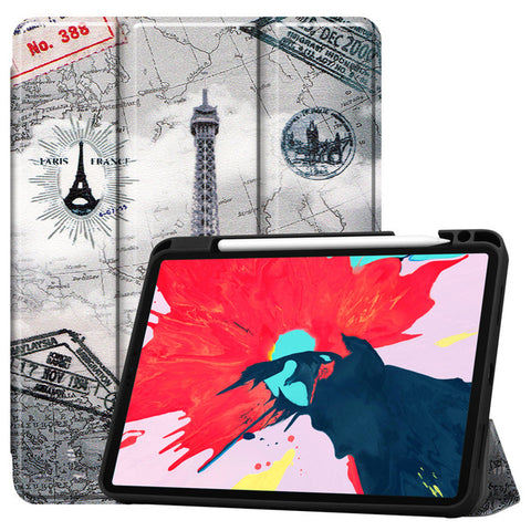 iPad Pro Case 2020 11 inch 4th Gen Pencil Holder Folio Case Cover A3-CoolDesignOnline