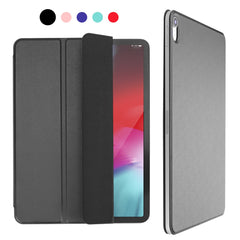 iPad Pro 12.9 Case 2018 Magnetic Pencil Holder Smart Cover Black-CoolDesignOnline