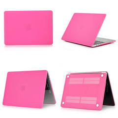 MacBook Case 12 inch Stylish Clear Shell Laptop Cover Matte Mei Red-CoolDesignOnline