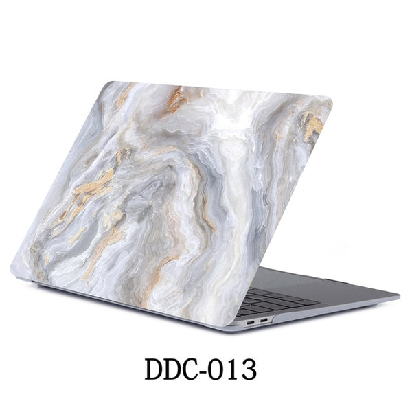 MacBook Case 12 inch Marble Shell Laptop Cover 013-CoolDesignOnline