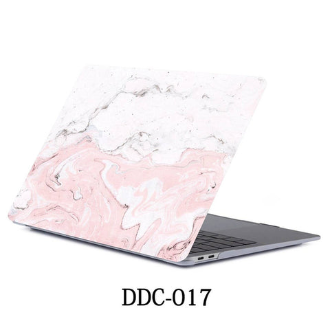 MacBook Air Case 2018 13 inch Touch ID Marble Case Laptop Cover 017-CoolDesignOnline
