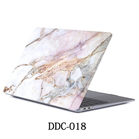 MacBook Air Case 2018 13 inch Touch ID Marble Case Laptop Cover 018-CoolDesignOnline