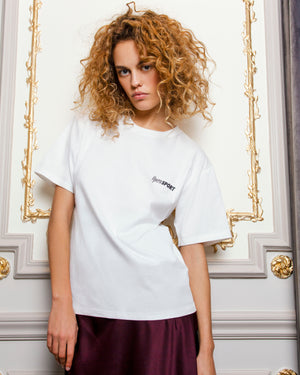 CLAUDE UNISEX T-SHIRT WHITE