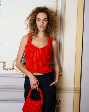 AMORA TOP RED