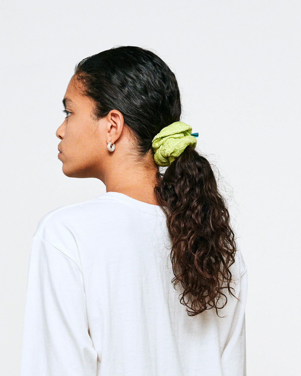 LOLLIE SCRUNCHIE SUNNY LIME