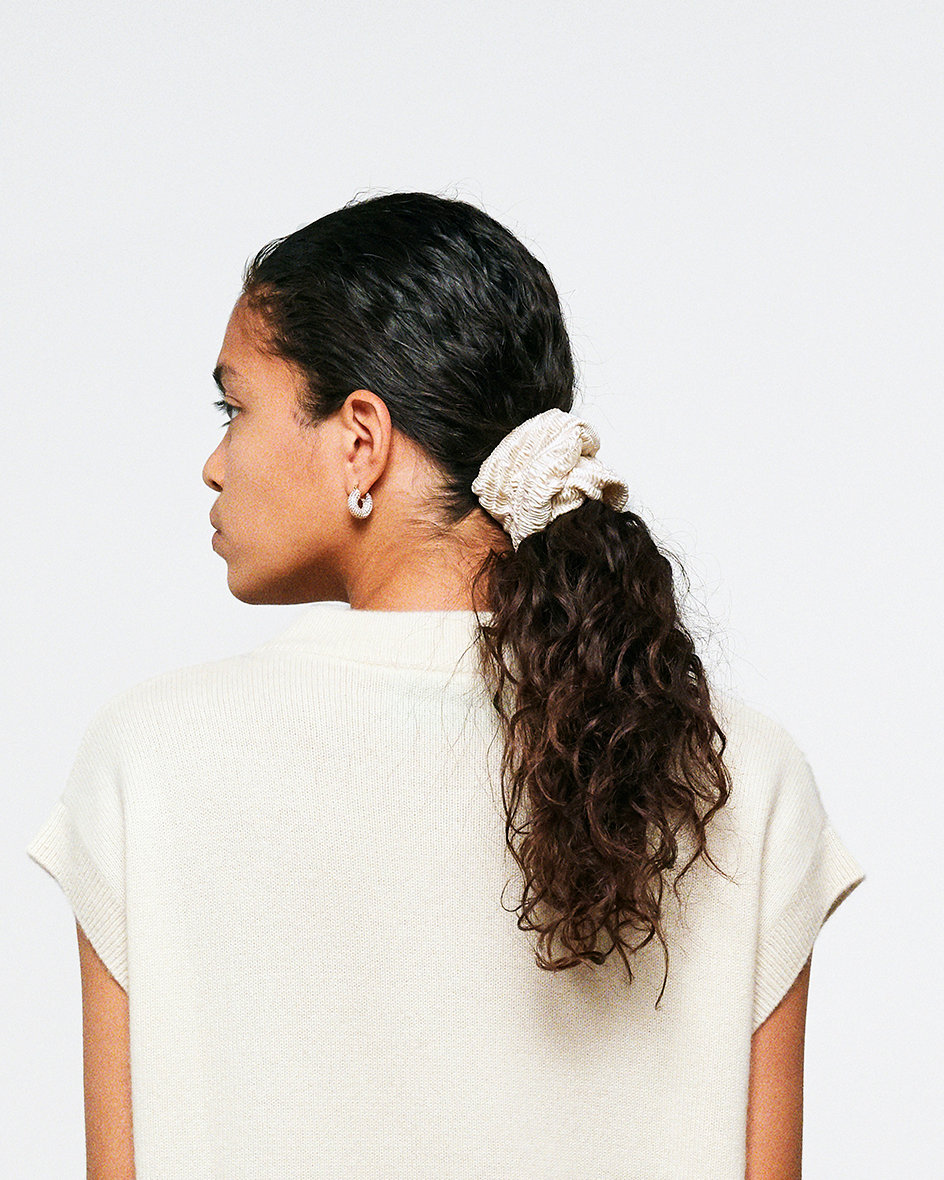LOLLIE SCRUNCHIE IVORY