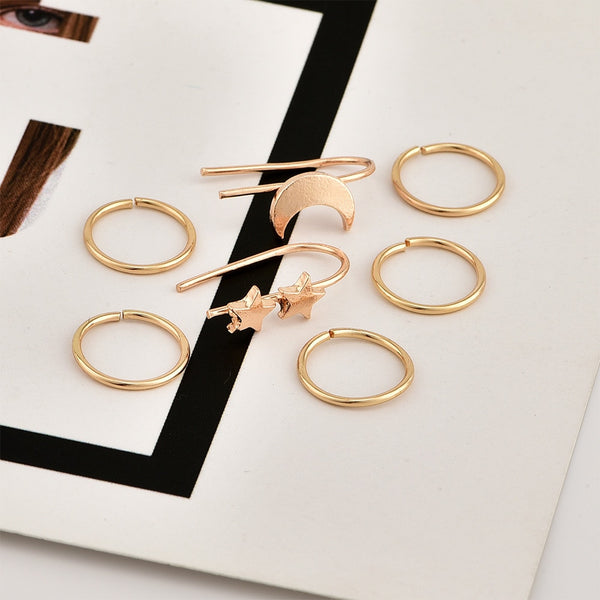 "Pack Pendientes Ear Cuff ""Chic"""